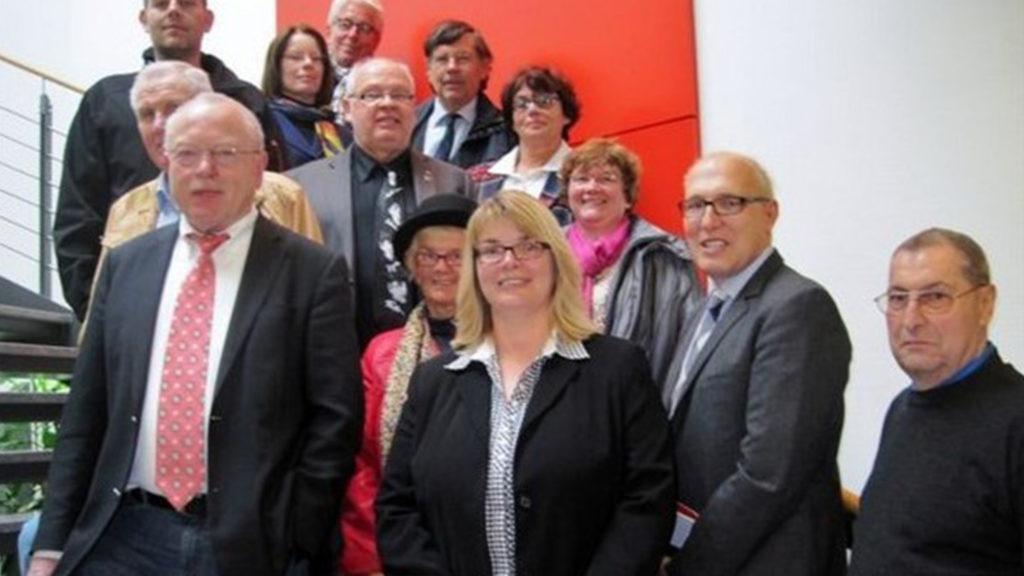 Frau Beer, sowie der Magistrat der CDU Herborn