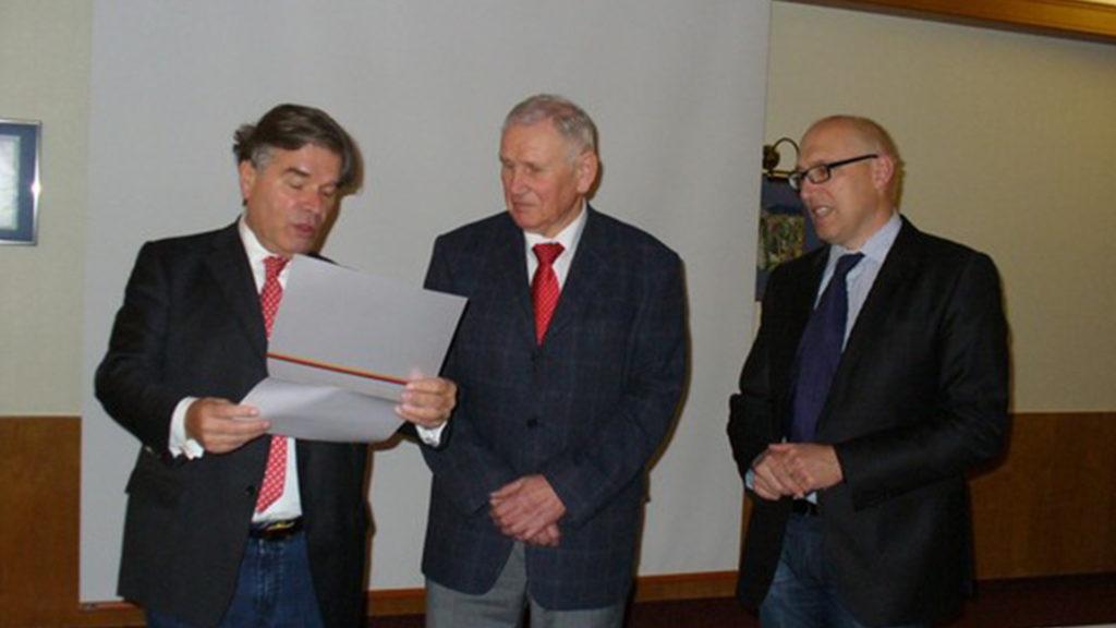 40-jährige Mitgliedschaft wurde unser Magistratsmitglied Lothar Herrmann